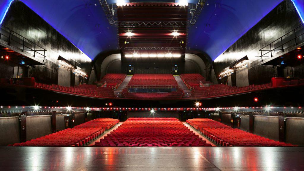 La salle de concert